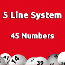 5 Line System - 45 Numbers