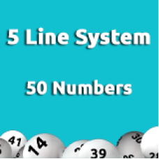 5 Line System - 50 Numbers