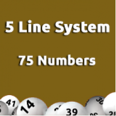 5 Line System - 75 Numbers