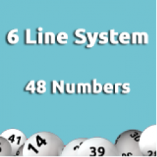 6 Line System - 48 numbers