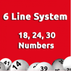 6 Line System - 18, 24, 30, Numbers