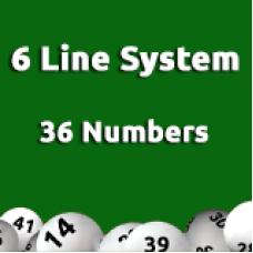 6 Line System - 36  Numbers