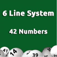 6 Line System - 42 Numbers